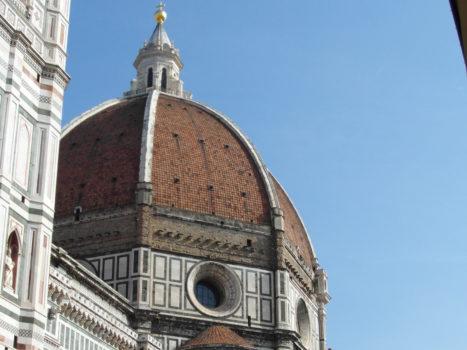Kopuła katedry Santa Maria del Fiore we Florencji.