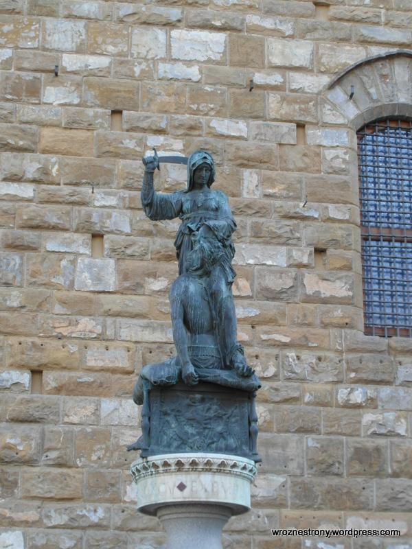 Rzeźba Donatella - Judyta i Holofernes