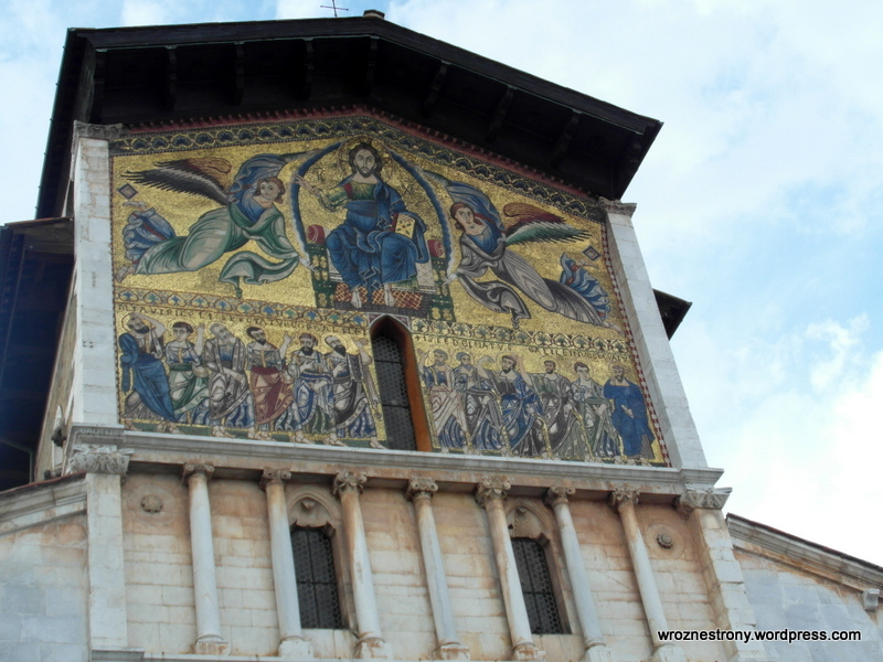 Mozaika na Bazylice San Frediano