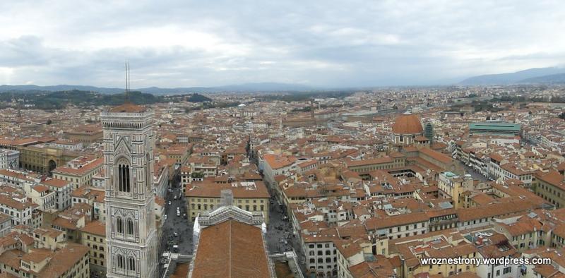 Widok z kopuły, Florencja
