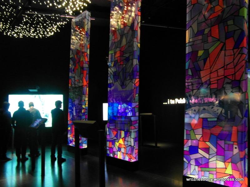 Jedna z sal z ekspozycją