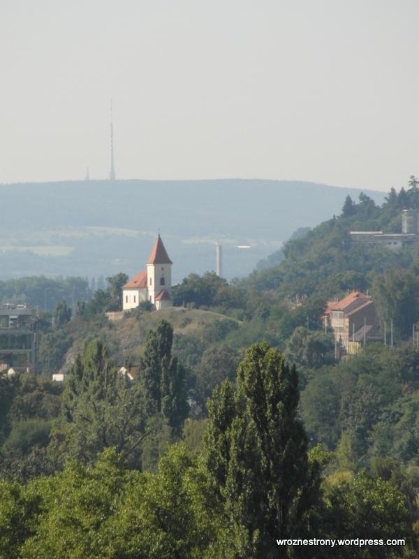 Widok z Wzgórza Wyszehradzkiego