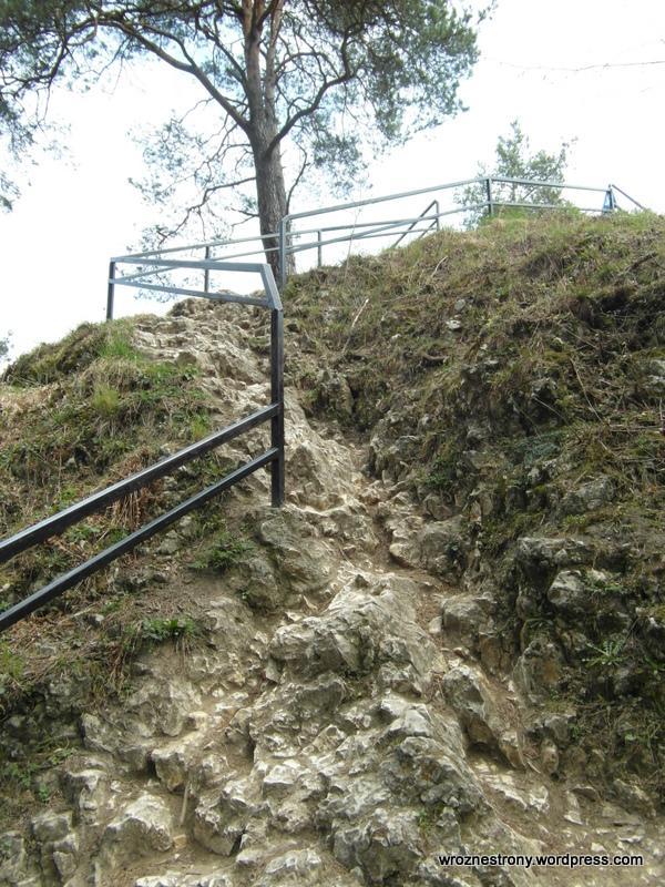Wejście na Skałę Jonaszówka w Ojcowie