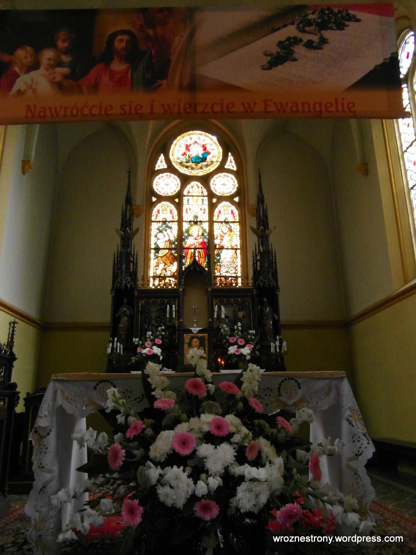 Witraże w kościele św. Wojciecha