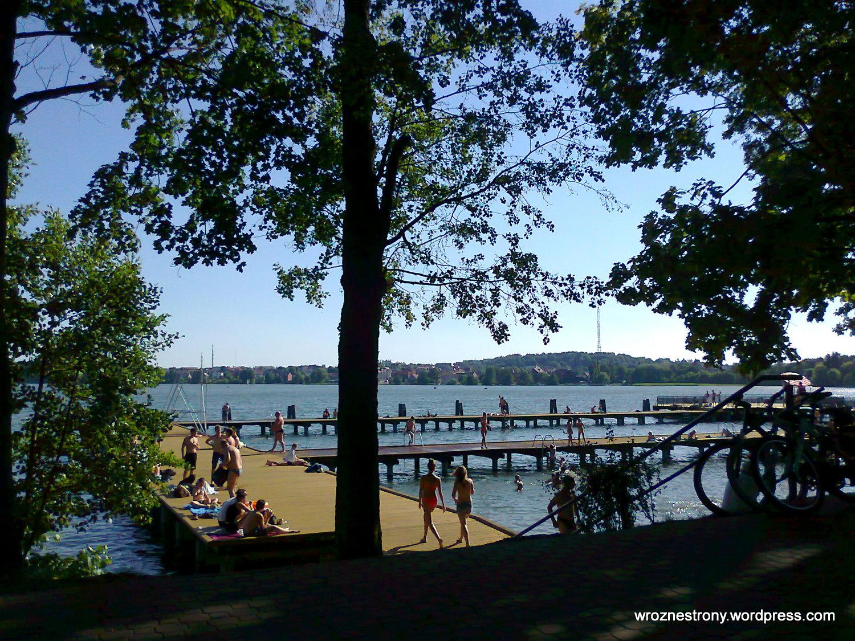 Kąpielisko nad jeziorem Czos