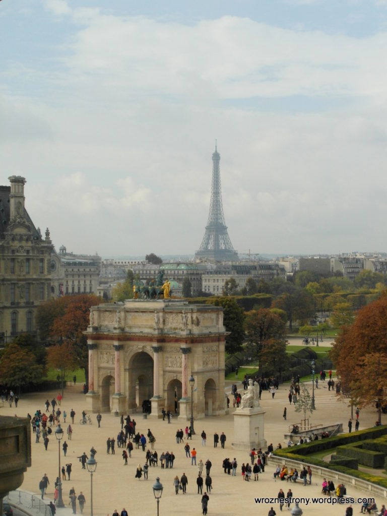 Widok z okien Luwru