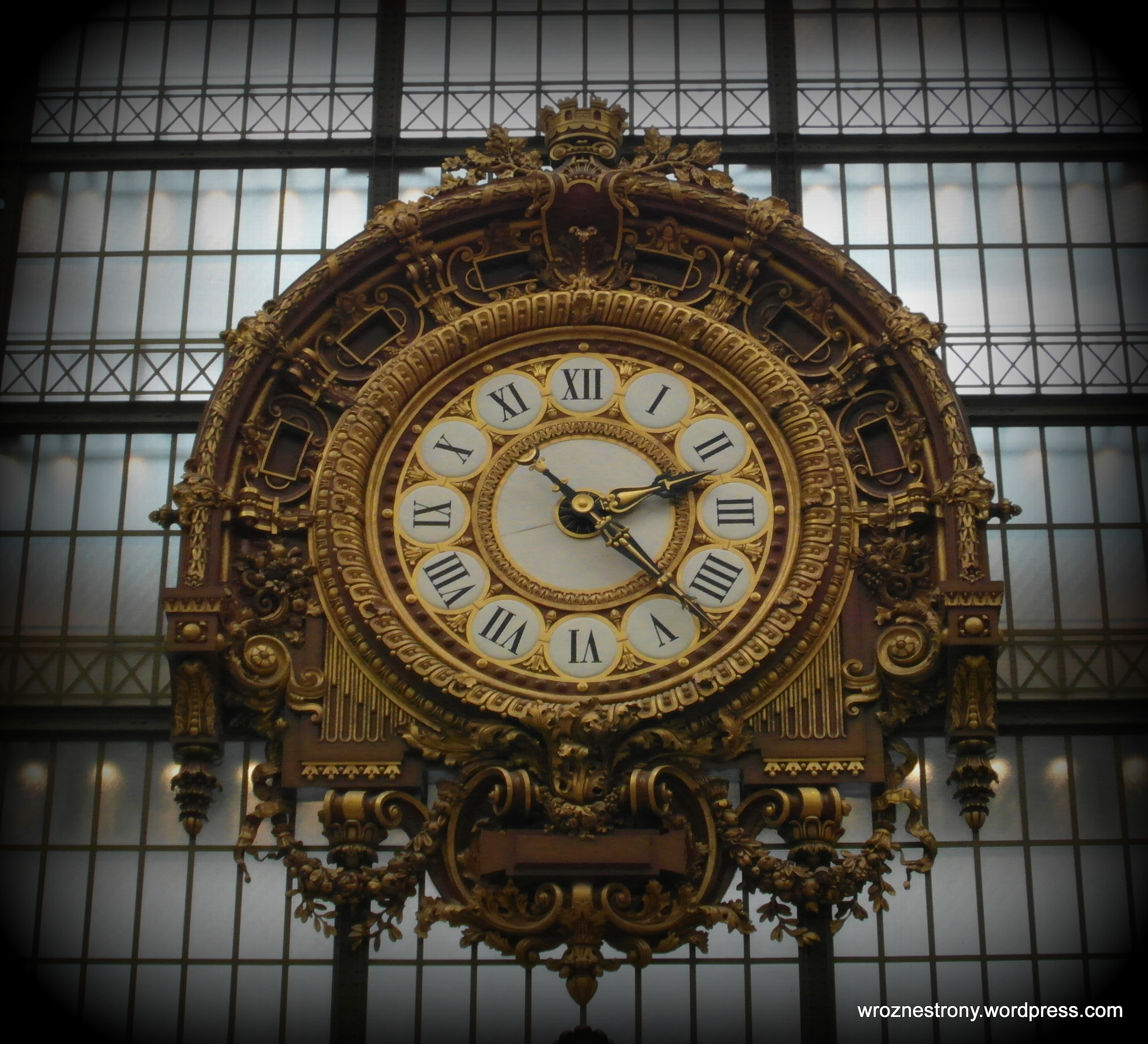 Piękny zegar