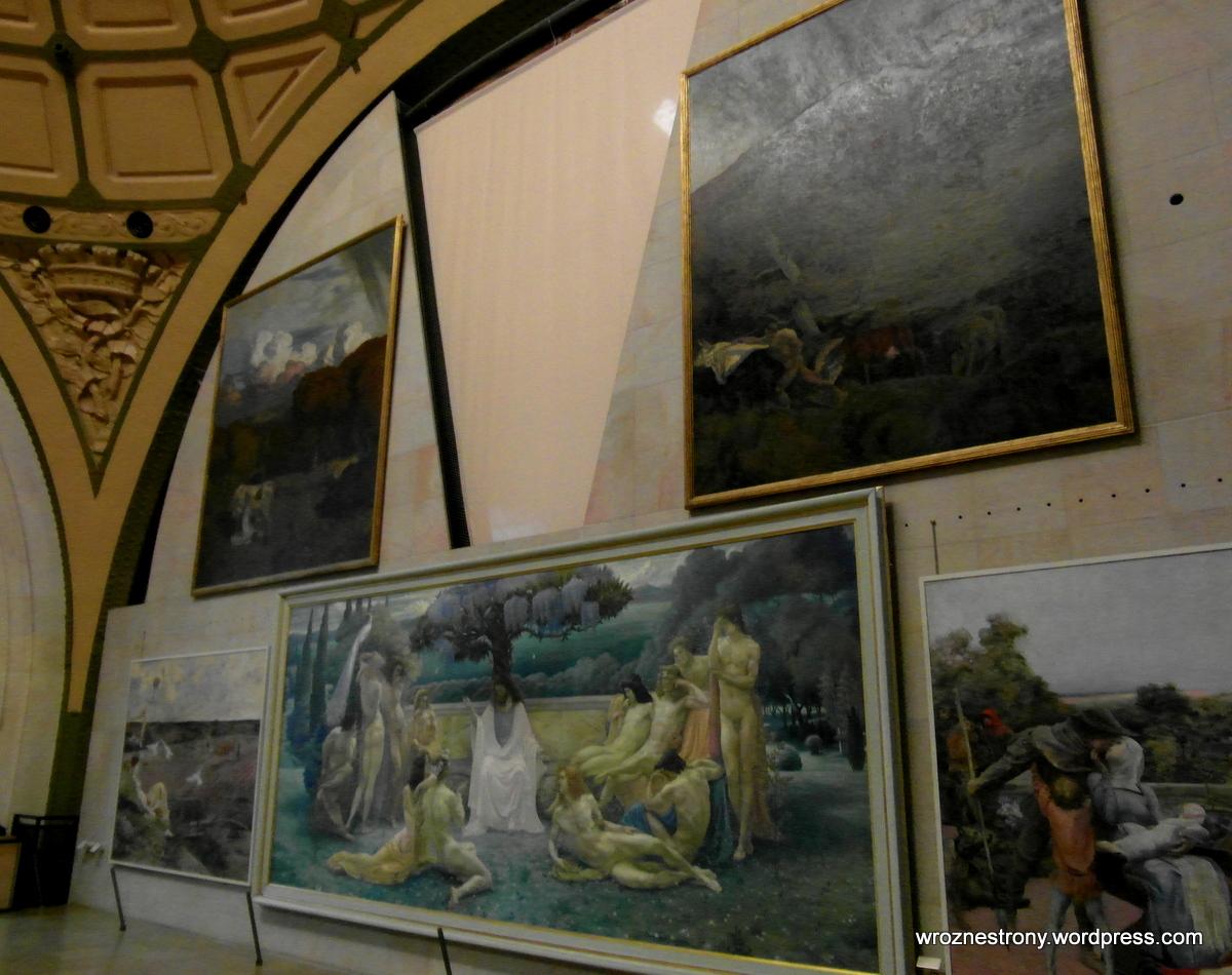Obrazy w Muzeum Orsay