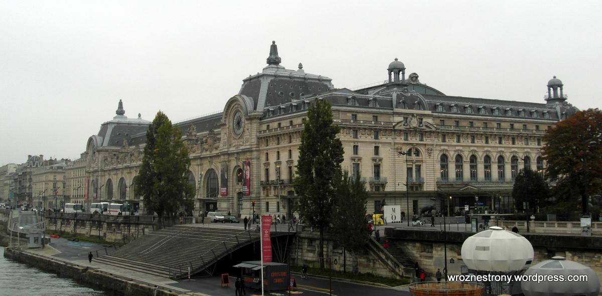 Budynek Muzeum Orsay