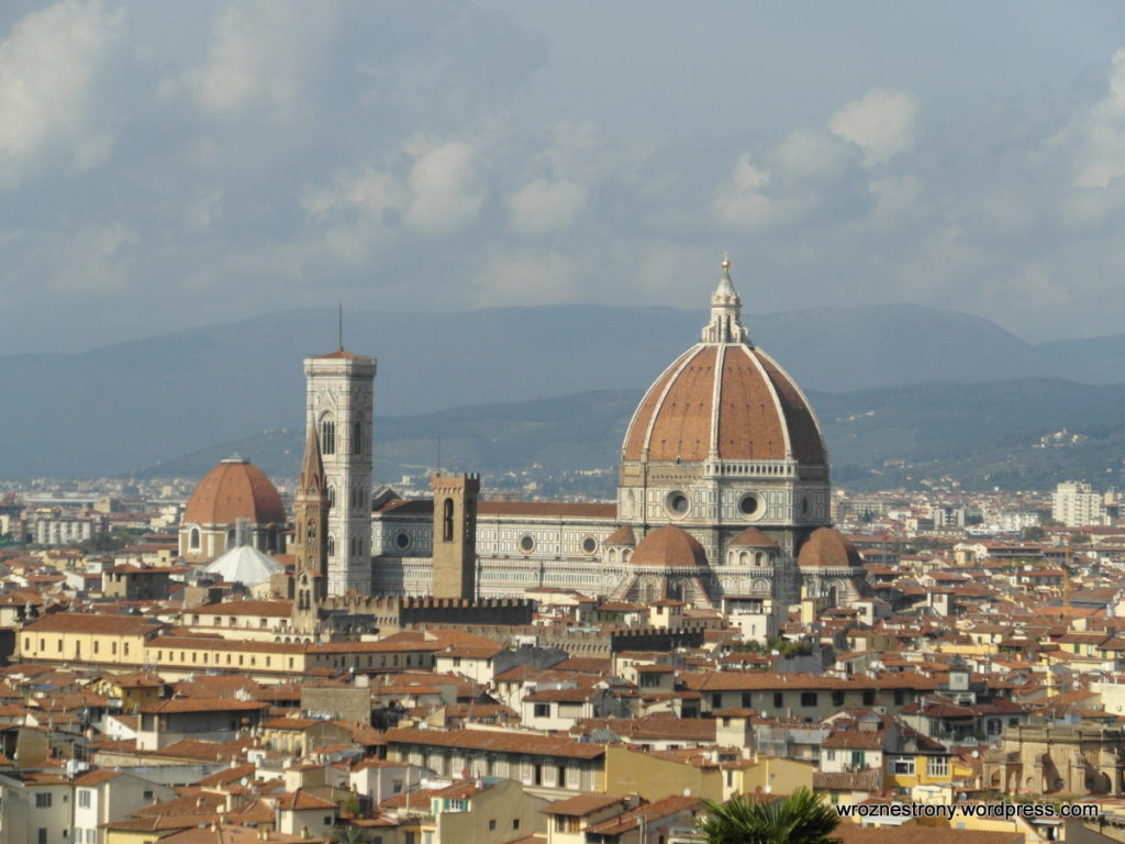 Najbardziej charakterystyczny budynek Florencji - katedra