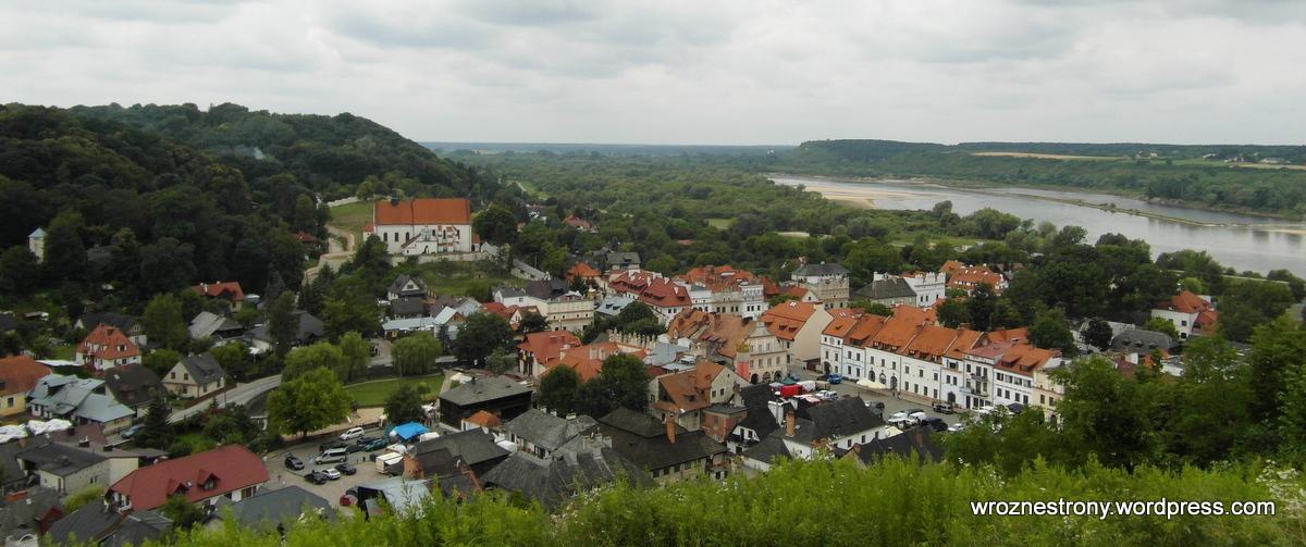 Kazimierz Dolny w całej okazałości