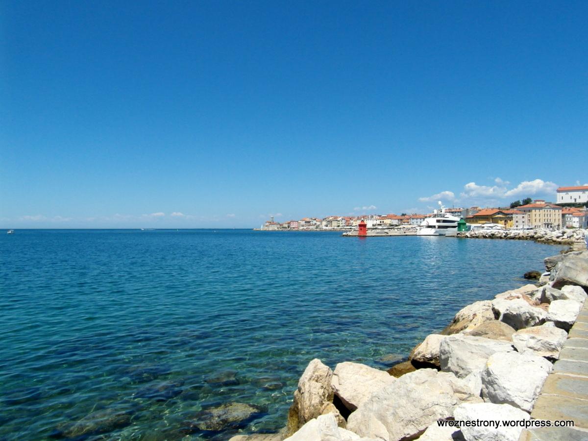 Wybrzeże w Piranie