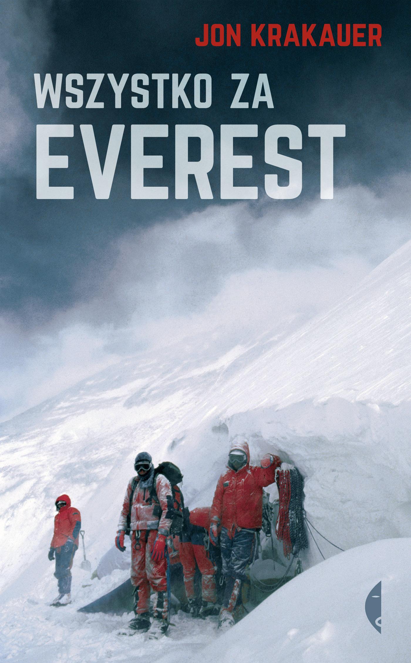 Wszystko za Everest, Jon Krakauer, Wyd. Czarne