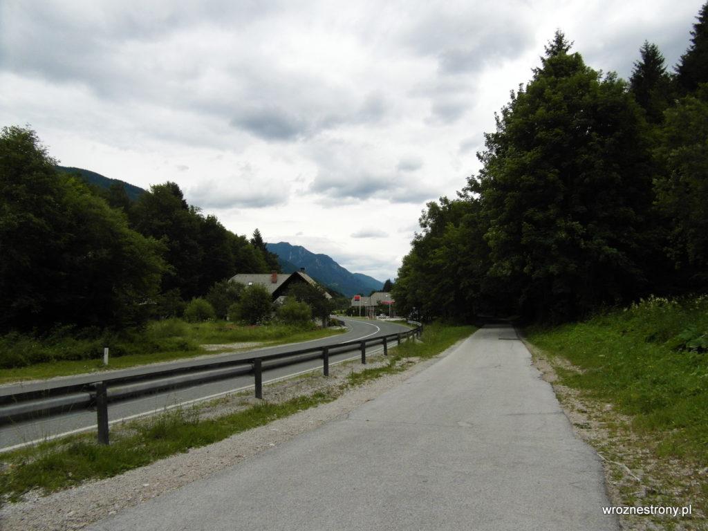 Szlak z Kranjskiej Gory do Planicy