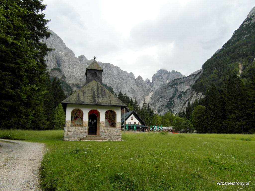 Kaplica w dolinie Tamar