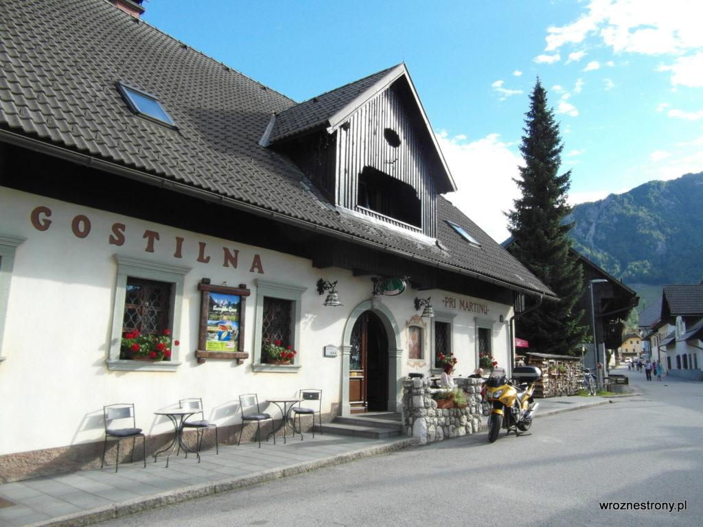 Jedna z restauracji w Mojstranie