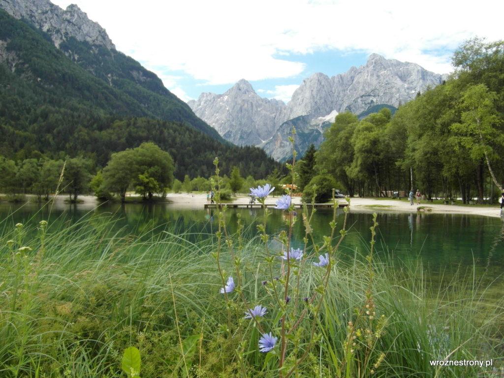 Jezioro Jasna w pobliżu Kranjskiej Gory