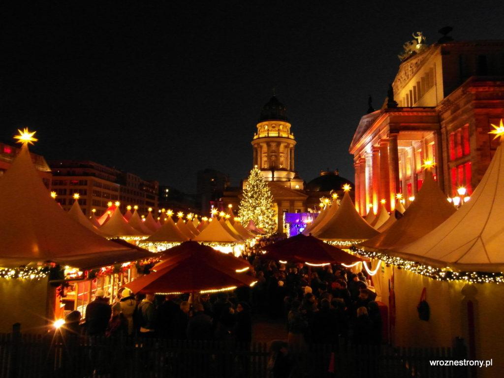 Chyba najpiękniejszy jarmark bożonarodzeniowy w Berlinie jest na Gendarmenmarkt