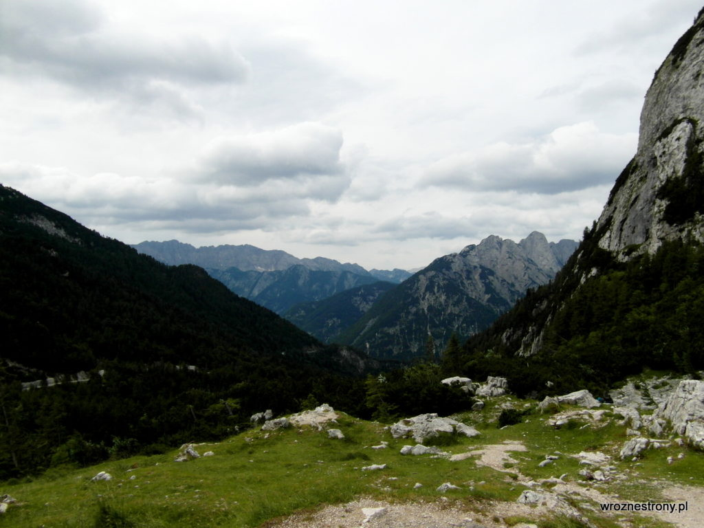 Widok z Przełęczy Vršič