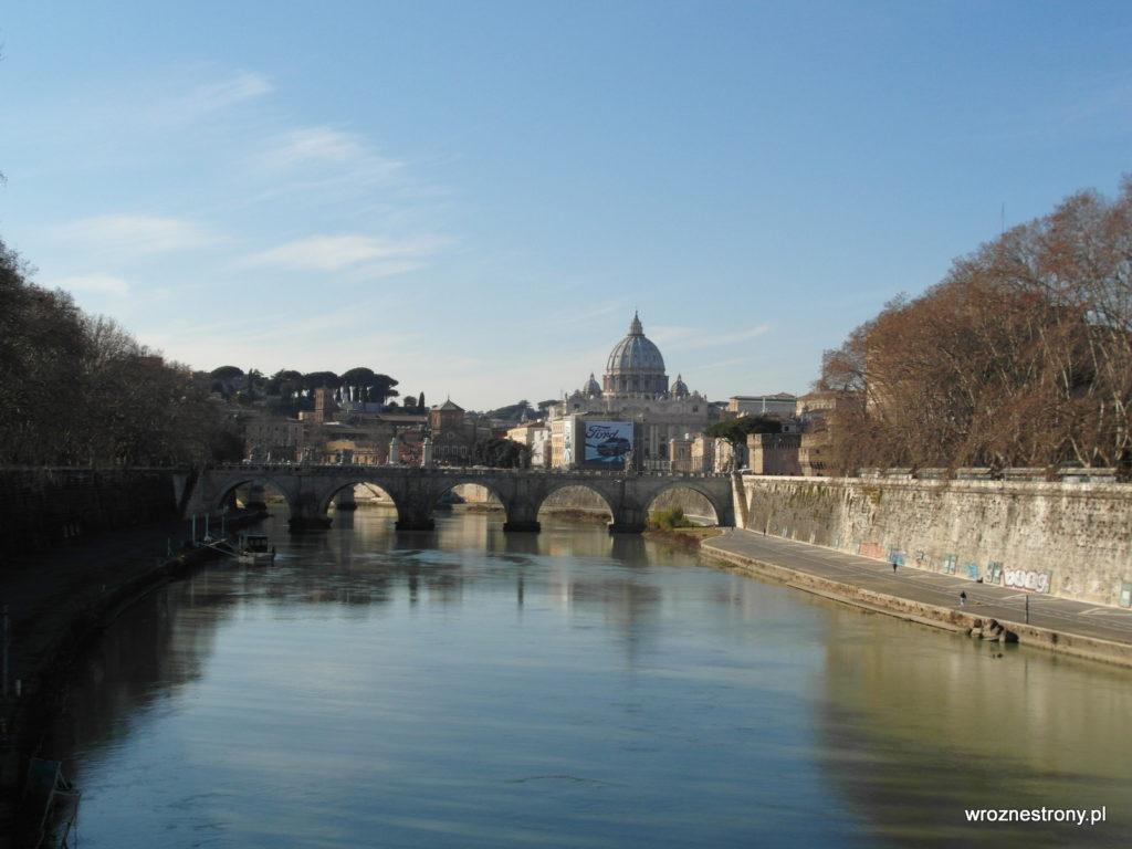Rzym w styczniu