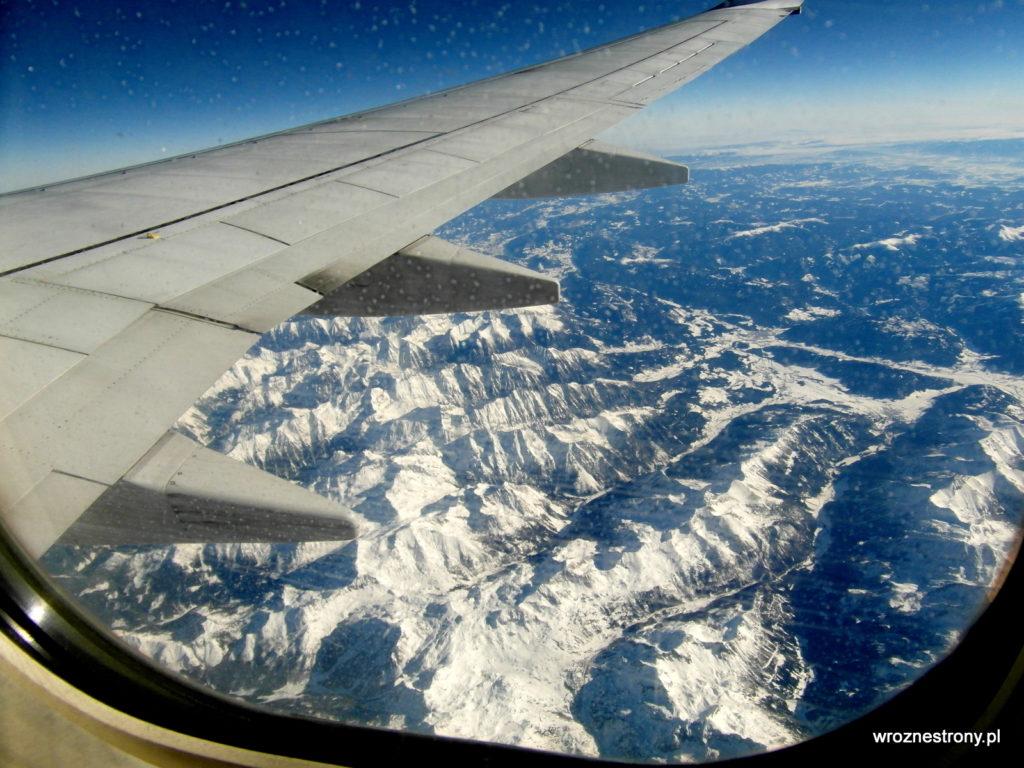 Ośnieżone Alpy