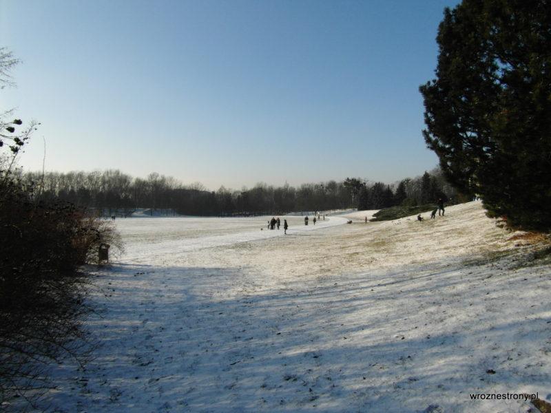 Zimowy dzień na Cytadeli
