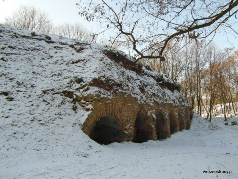Przysypane bunkry na Cytadeli