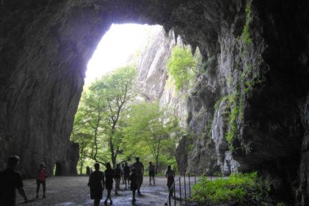 Wyjście z Jaskiń Szkocjańskich