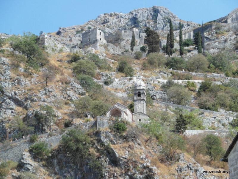 Mury miejskie, Kotor, Czarnogóra