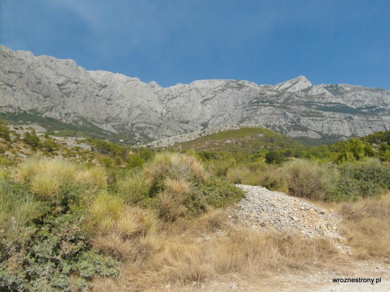 Makarska, góry Biokovo