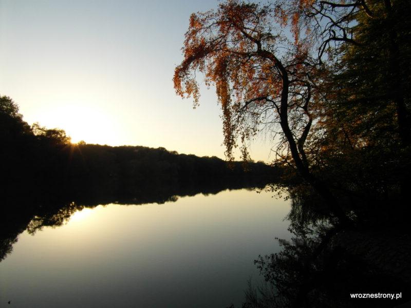 Wieczór na Jeziorem Rusałka