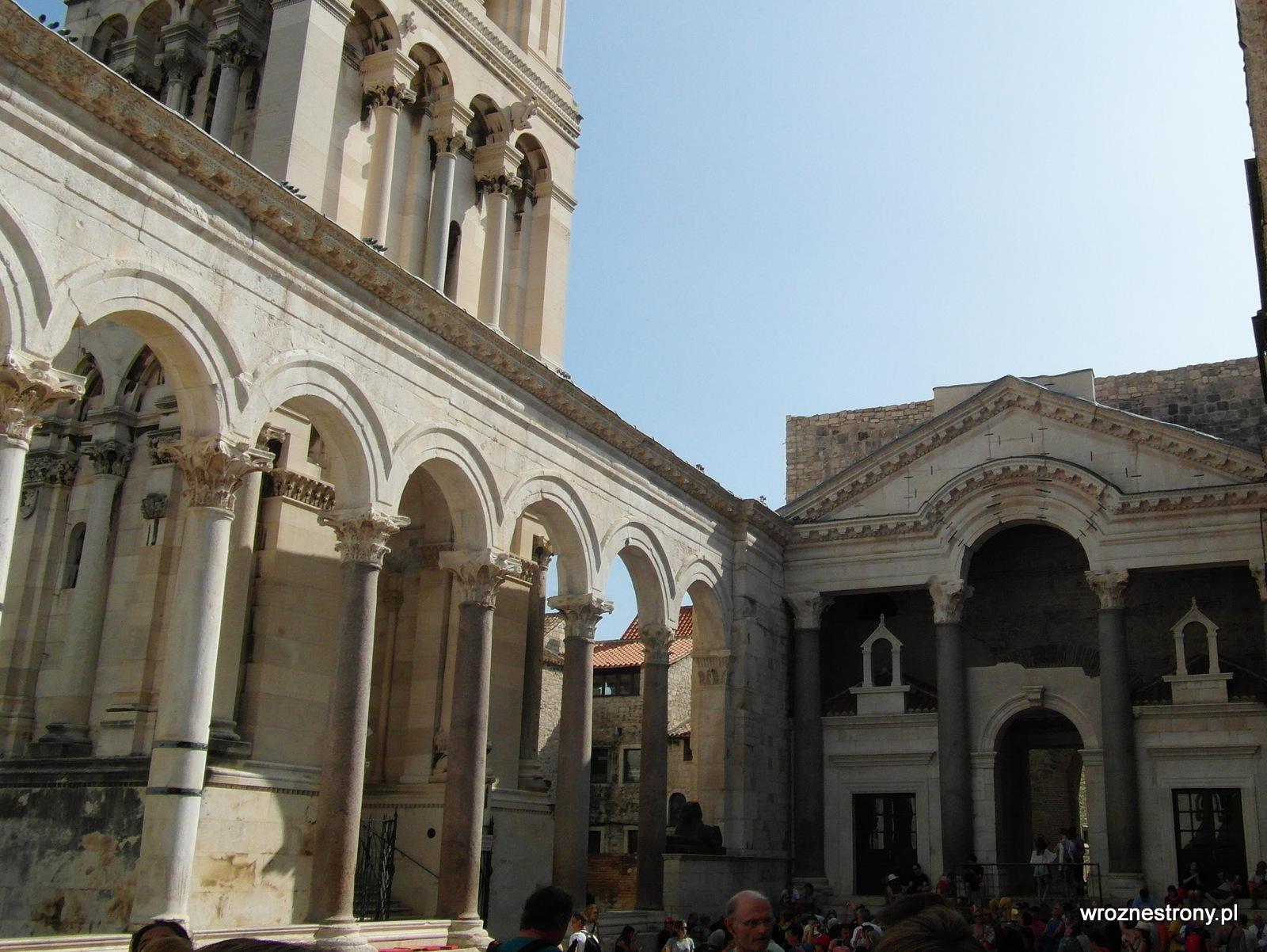 Perystyl w Pałacu Dioklecjana w Splicie