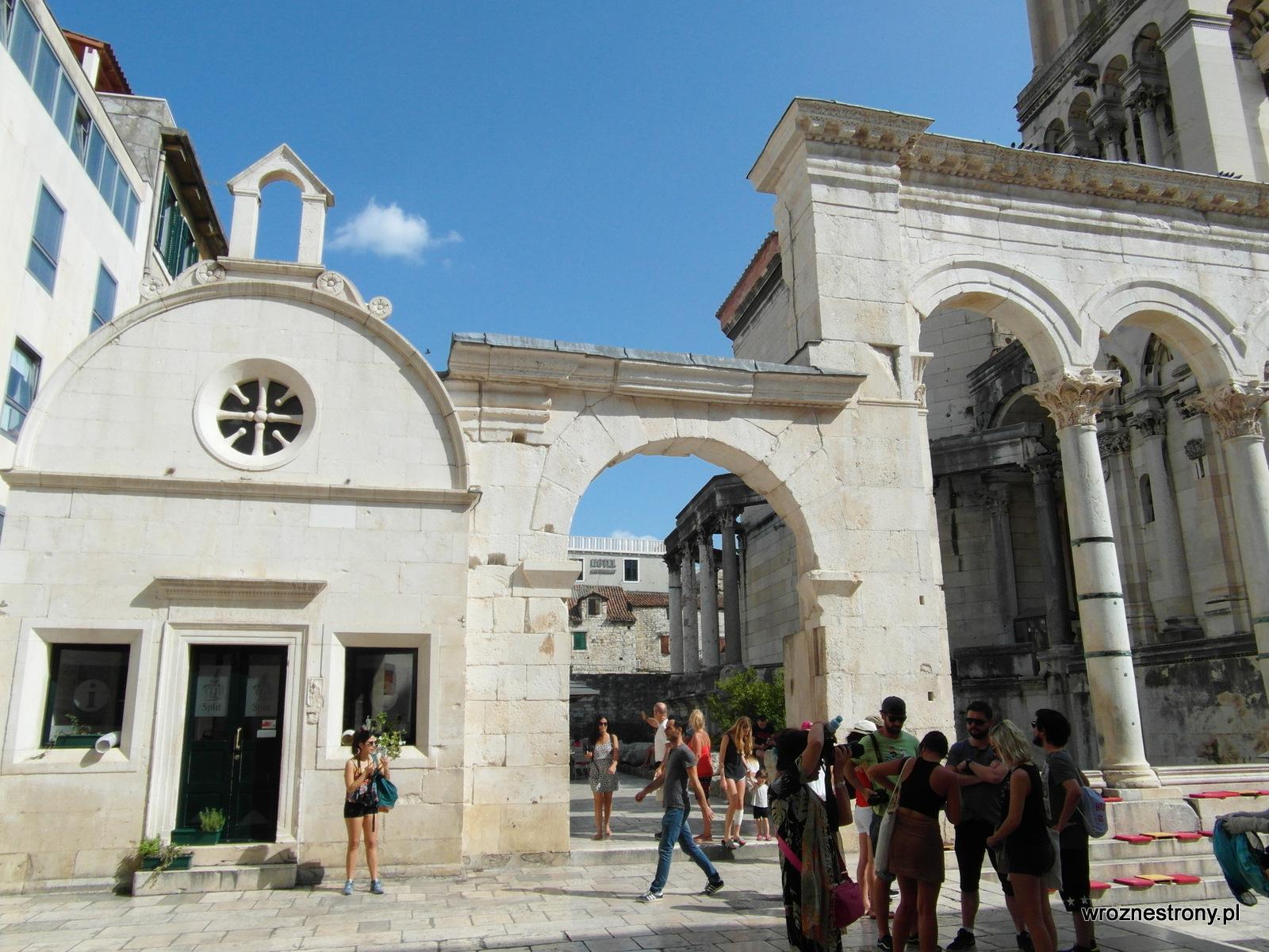 Pozostałości po Pałacu Dioklecjana w Splicie