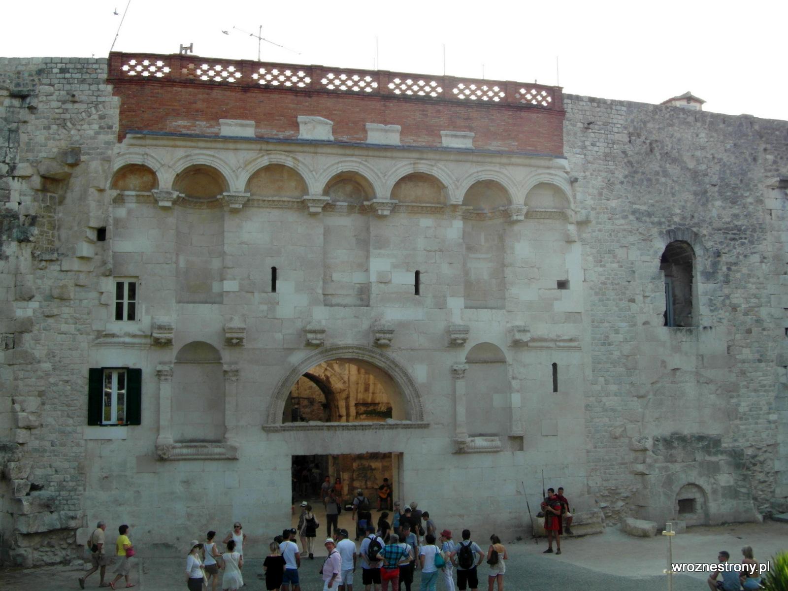Złota Brama, Pałac Dioklecjana, Split