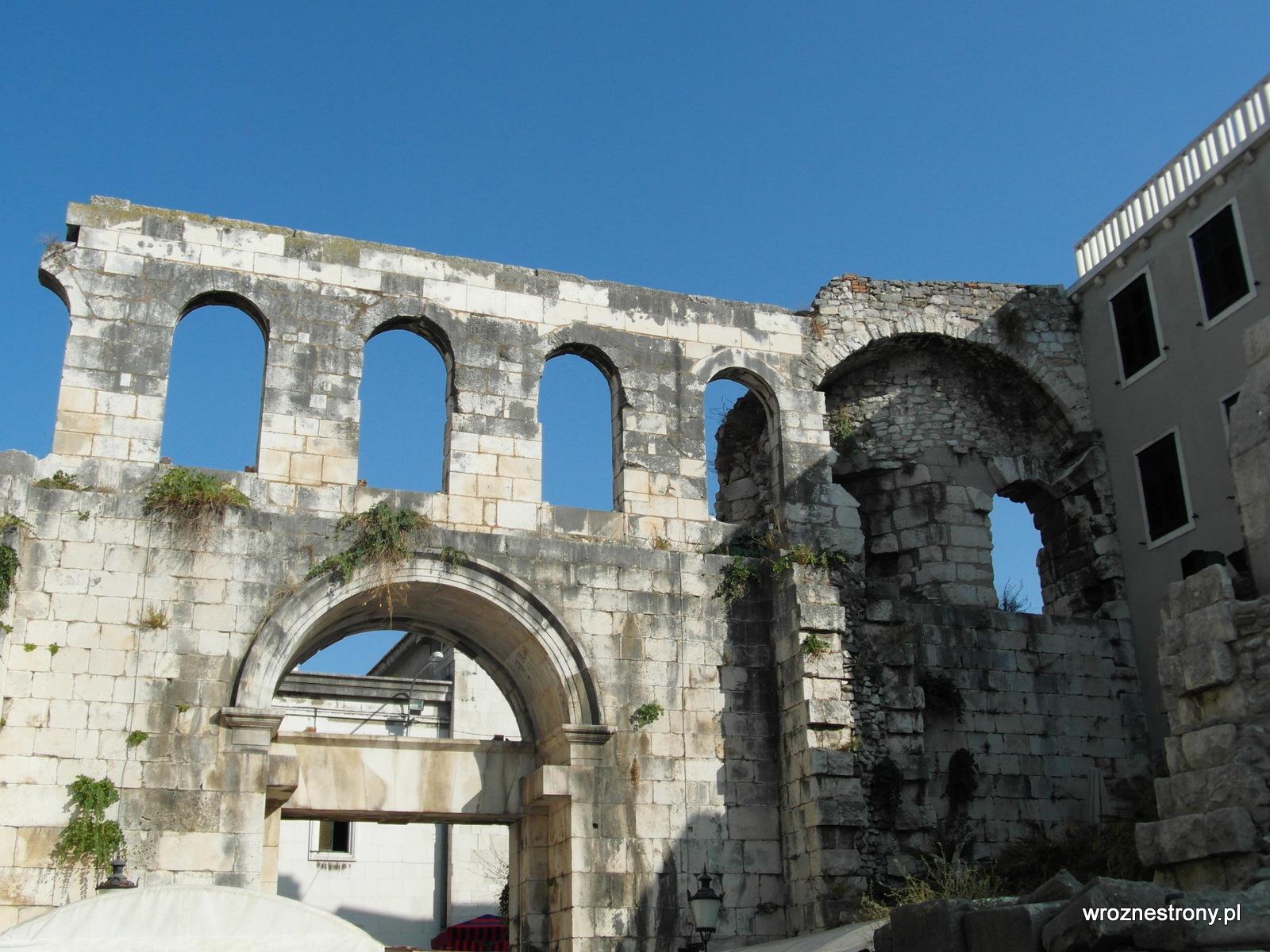 Srebrna Brama, Pałac Dioklecjana, Split