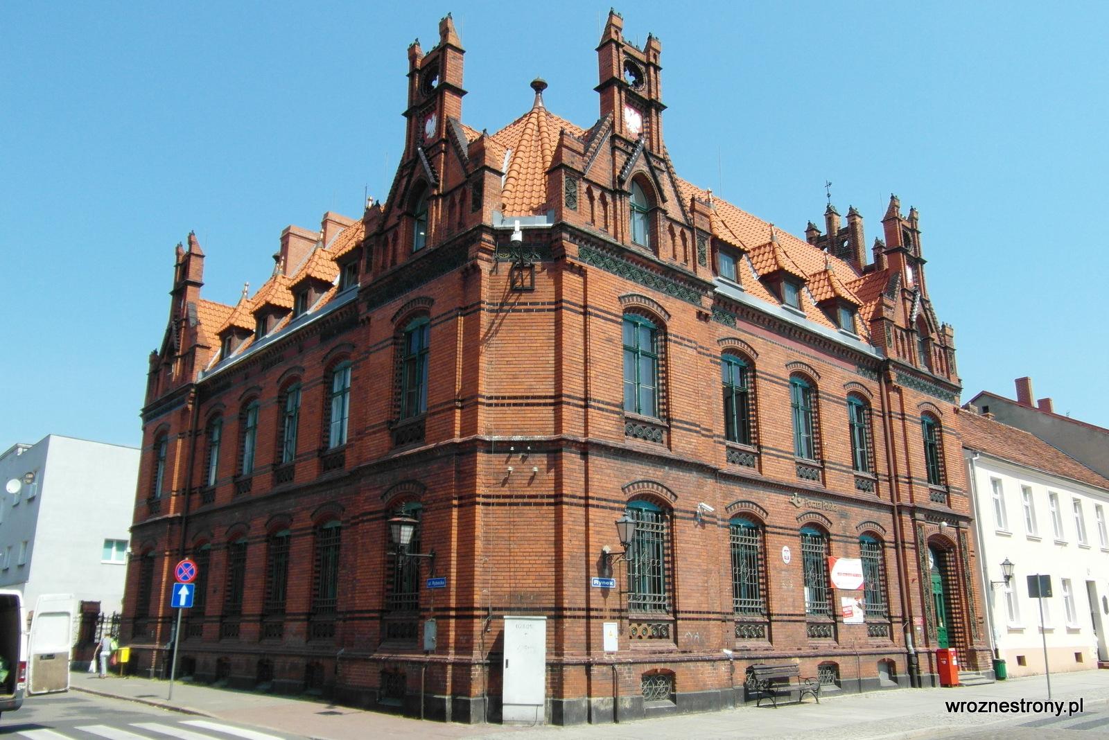 Chełmno, budynek poczty