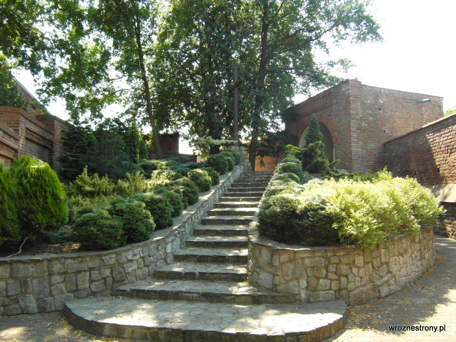 Ogrody na tyłach klasztoru
