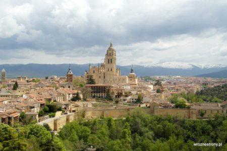 Panorama Segowii z zamku