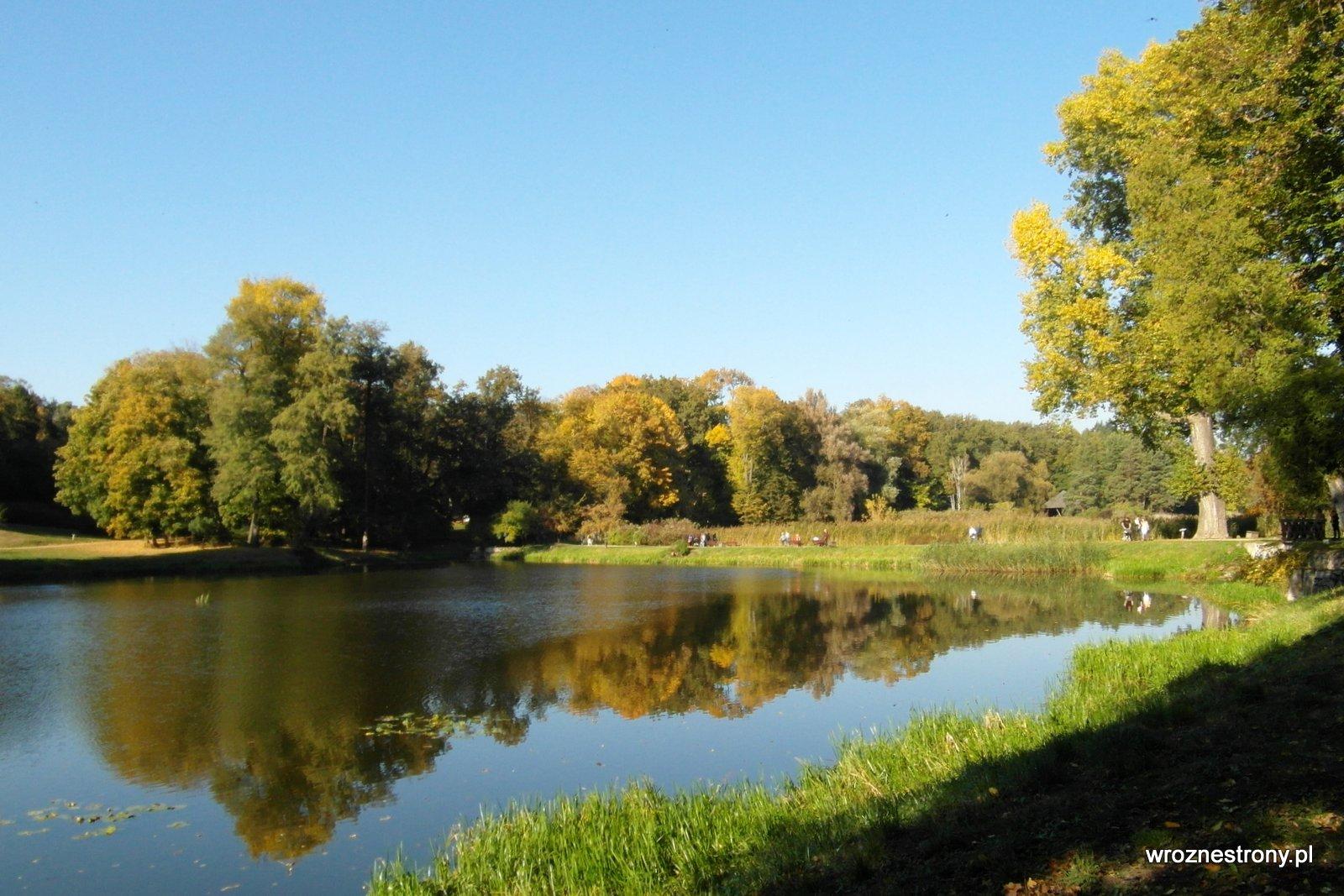 Park w Gołuchowie