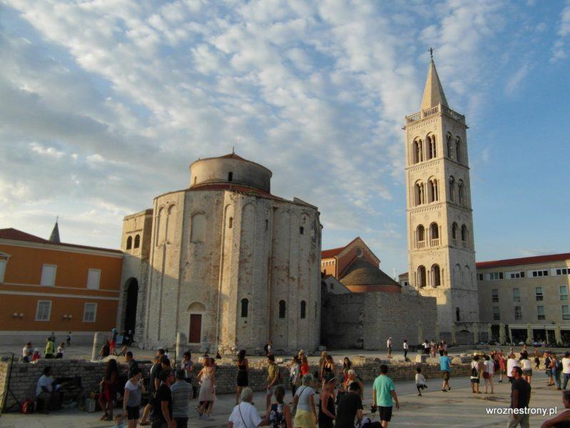 Kościół św. Donata i wieża katedry św. Anastazji