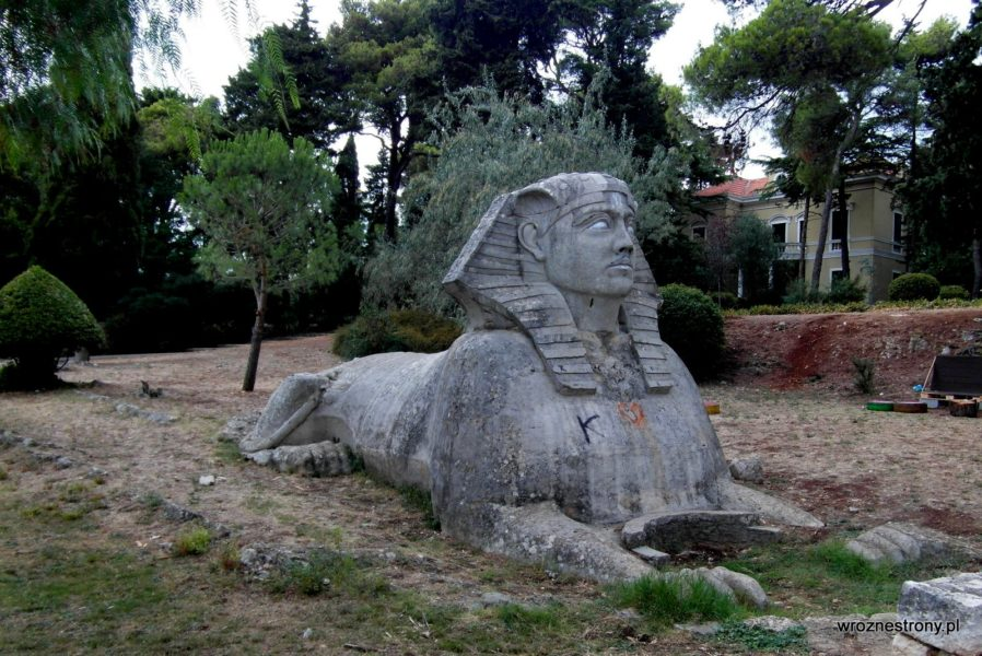 Sfinks w Zadarze