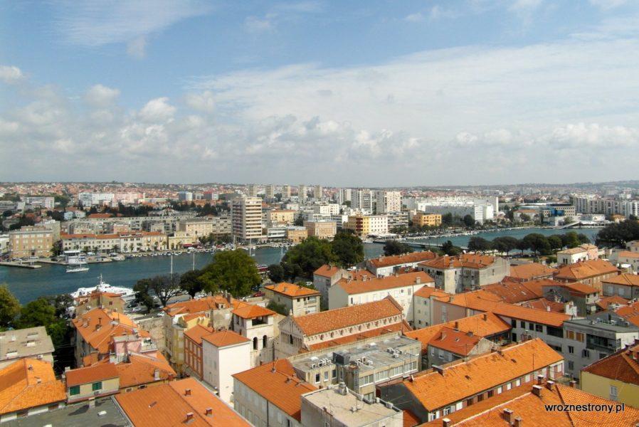 Widok na nową część Zadaru