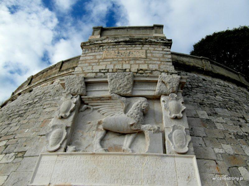 wenecki lew na murach Zadaru