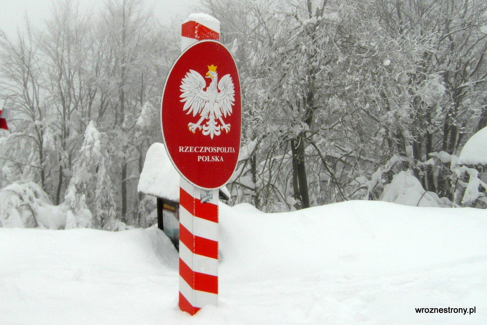 granica polsko-czeska na Czantorii