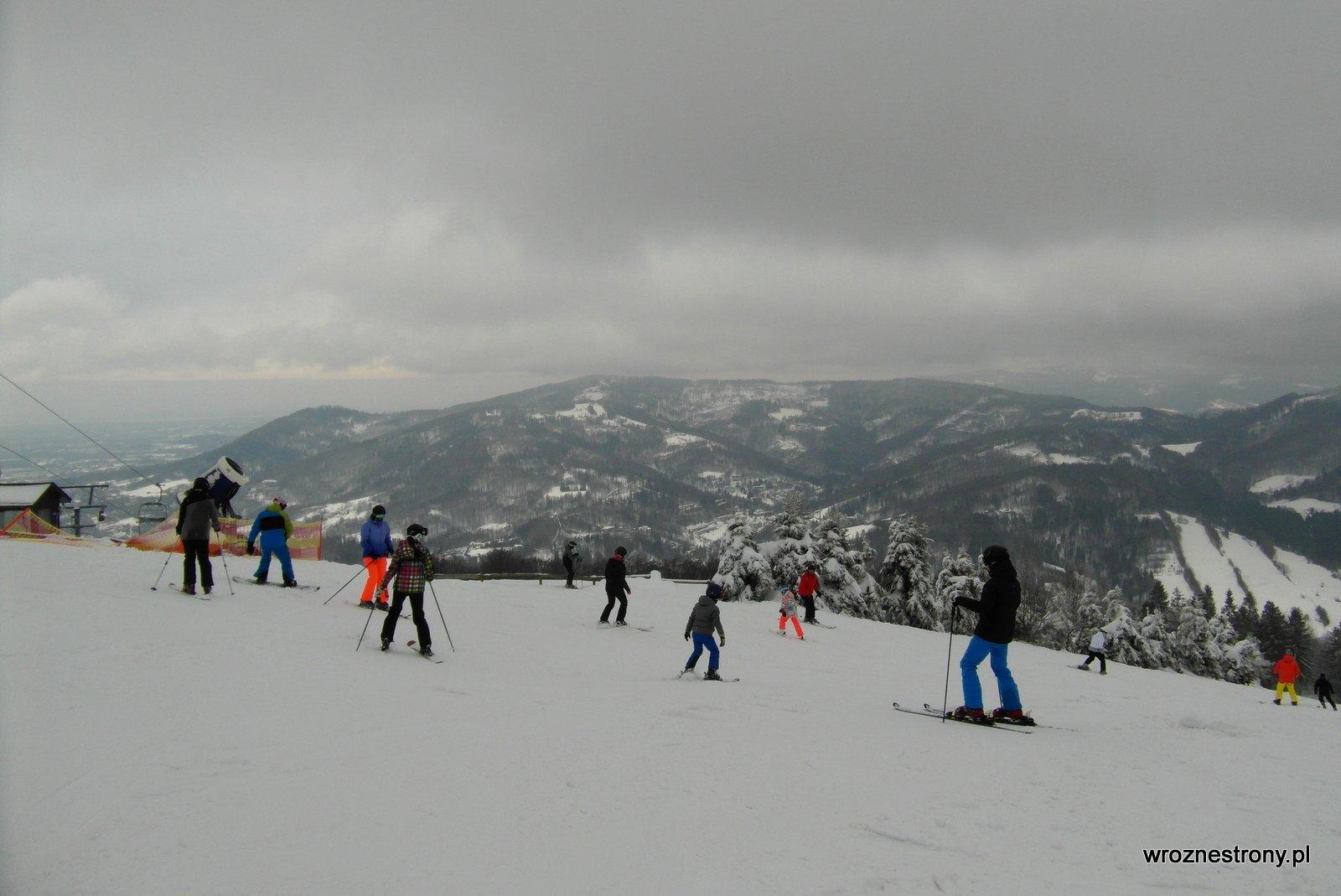 Stok narciarski na Czantorii