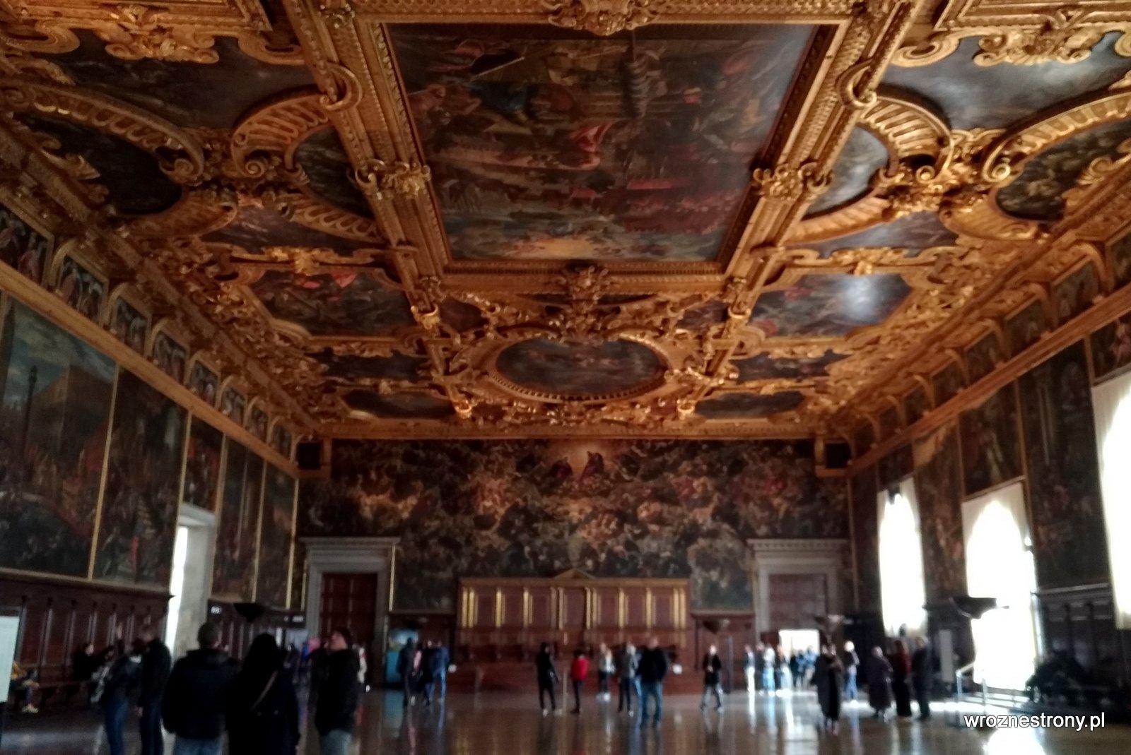 Wnętrza Pałacu Dożów