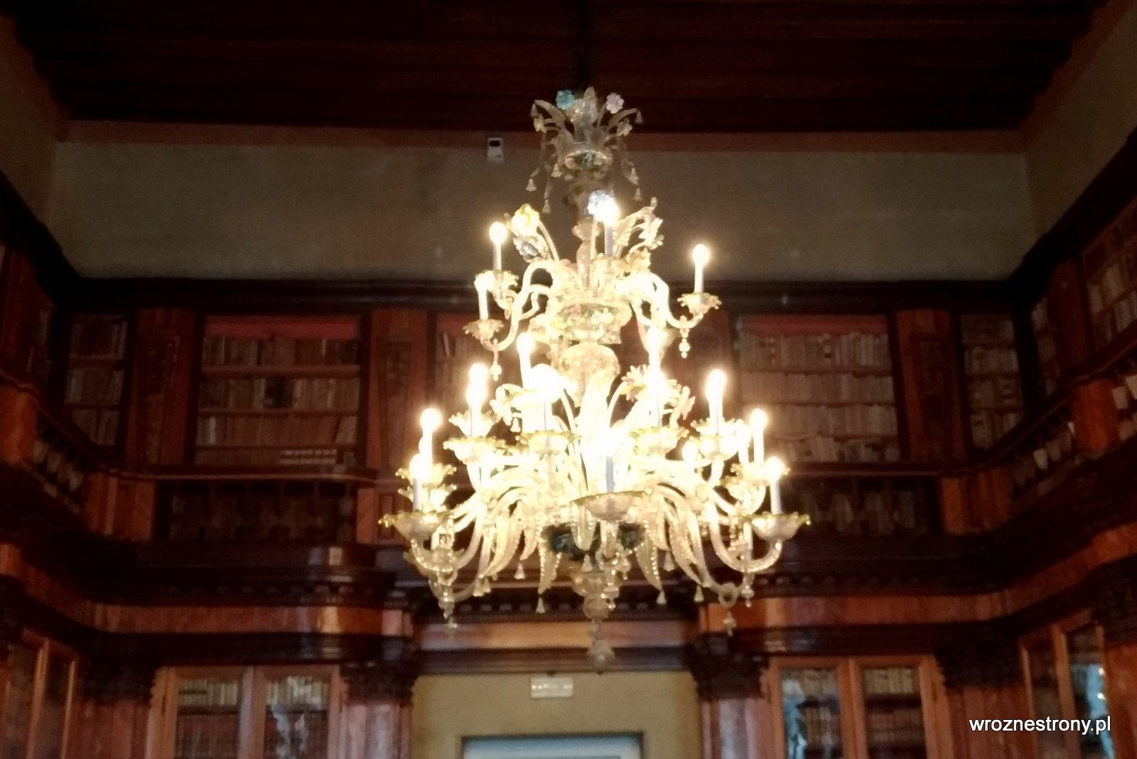 Wnętrza Muzeum Correr