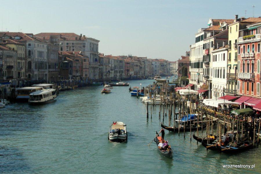 Canal Grande z Mostu Rialto