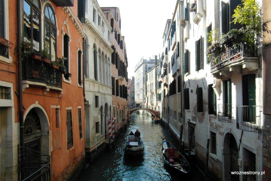 Weneckie kanały są urokliwe