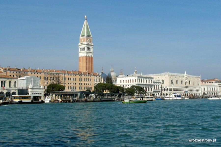 Widok na San Marco z Punta della Dogana